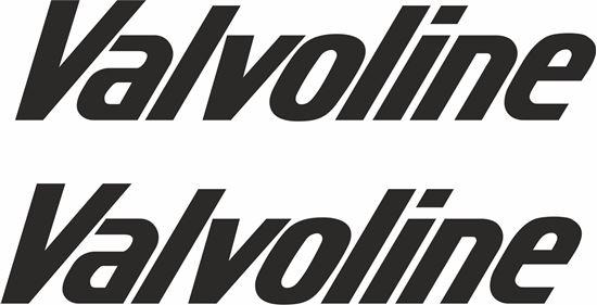 "Picture of ""Valvoline""  Decals / Stickers"