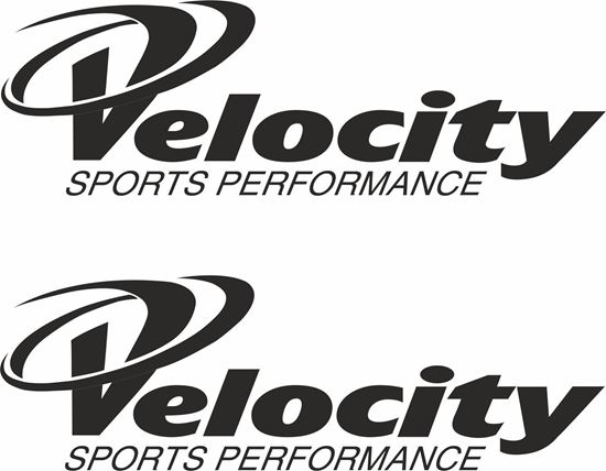 "Picture of ""Velocity...""  Decals / Stickers"