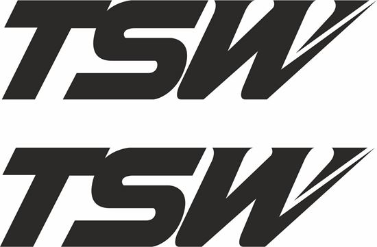 "Picture of ""TSW"" Decals / Stickers"