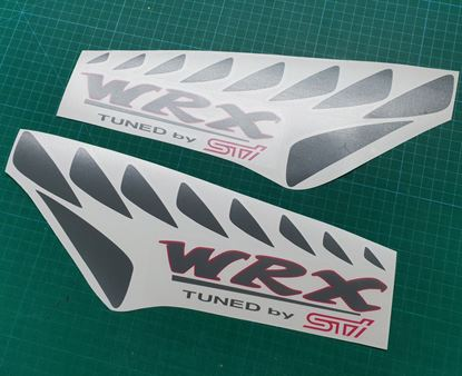 Picture of Subaru Impreza STI replacement lower side Decals / Stickers