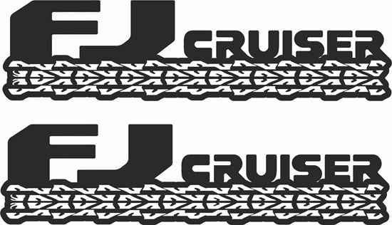 Picture of Toyota FJ Cruiser Decala / Stickers