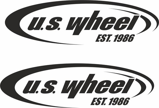 "Picture of ""U.S. Wheel"" Decals / Stickers"