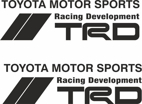 """Picture of """"TRD Racing Development""""  Decals / Stickers"""