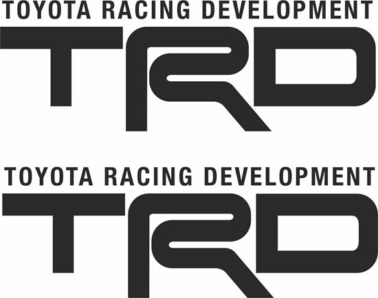"Picture of ""TRD Racing Development""  JDM Decals / Stickers"