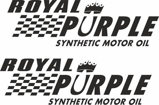 """Picture of """"Royal Purple..."""" Decals / Stickers"""