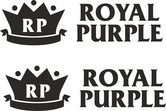 """Picture of """"Royal Purple"""" Decals / Stickers"""