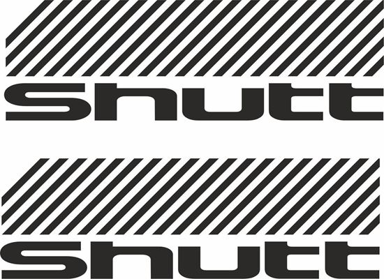 """Picture of """"Shutt"""" Decals / Stickers"""