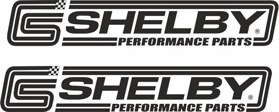 """Picture of """"Shelby Performance Part""""s Decals / Stickers"""