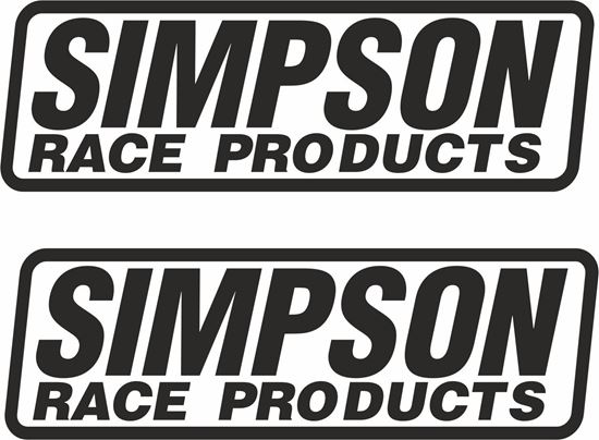 """Picture of """"Simson Race Products"""" Decals / Stickers"""