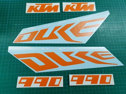 Picture of KTM Super Duke 990 Decals / Stickers Kit