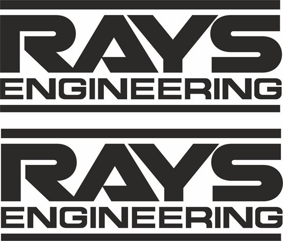 "Picture of ""Rays Engineering"" Decals / Stickers"