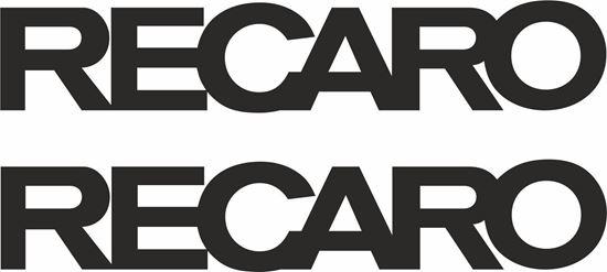 "Picture of ""Recaro"" Decals / Stickers"