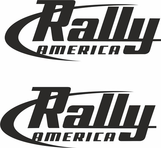 """Picture of """"Rally America"""" Decals / Stickers"""
