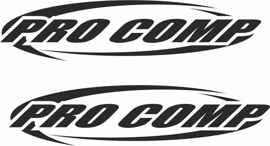 """Picture of """"Pro Comp"""" Decals / Stickers"""