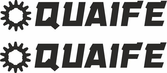 """Picture of """"Quaife"""" Decals / Stickers"""