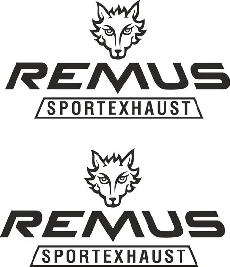 """Picture of """"Remus Sport Exhaust"""" Decals / Stickers"""