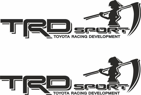 Picture of Toyota Hilux TRD Decals / Stickers