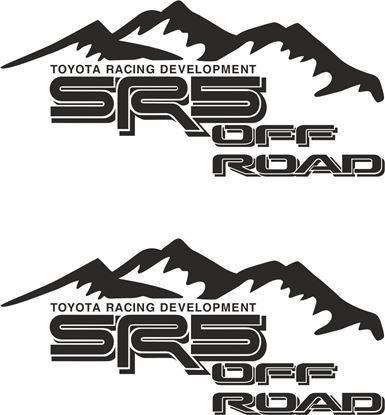 Picture of Toyota Hilux  SR5 TRD Decals / Stickers