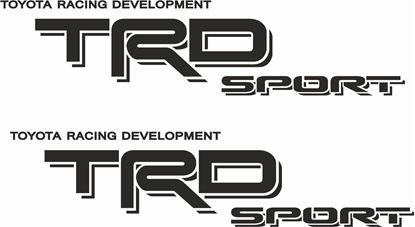 Picture of Toyota Hilux TRD Sport  Decals / Stickers