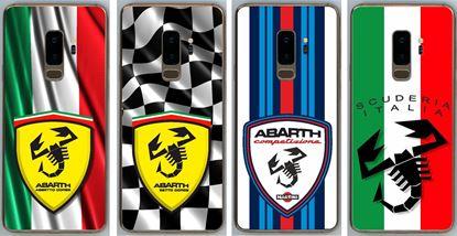 Picture of Fiat Abarth Samsung S9+ Vinyl Skin overlay