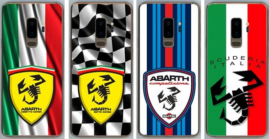 Picture of Fiat Abarth Samsung S9+ Vinyl Skin overlay