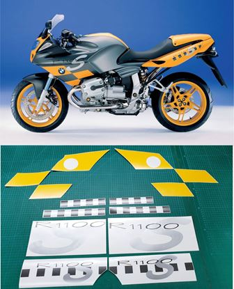 Picture of BMW R 1100 S 2000 Replacement Decals / Stickers