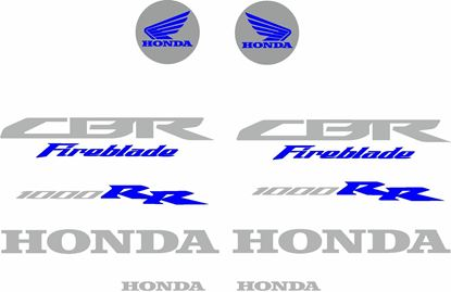 Picture of Honda CBR 1000RR Fireblade 2008 - 2010  Decals / Stickers