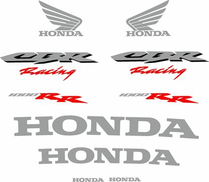 Picture of Honda CBR 1000RR Racing 2006  Decals / Stickers