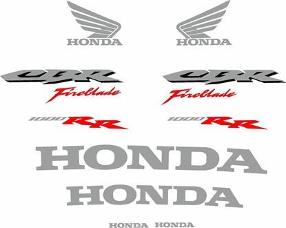 Picture of Honda CBR 1000RR Fireblade 2006  Decals / Stickers
