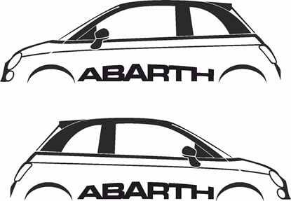 Picture of Fiat 500 / 595 Abarth Decals / Stickers