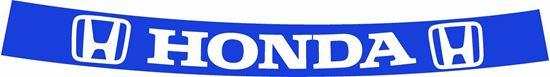 """Picture of """"Ayrton Senna / Prost""""  Honda / McLaren full size Helmet Visor  Decal  / Sticker"""