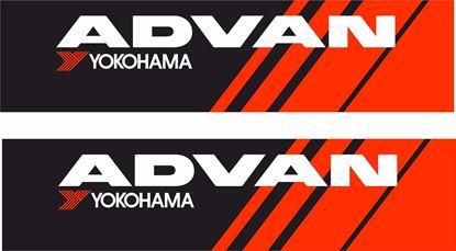 Picture of Advan Yokohama Decals / Stickers