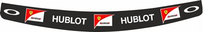 "Picture of ""Raikkonien"" 2015 Ferrari full size Helmet Visor  Decal  / Sticker"
