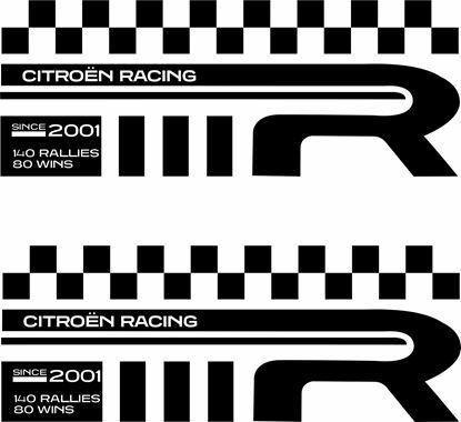 Picture of Citroen Racing Decals / stickers