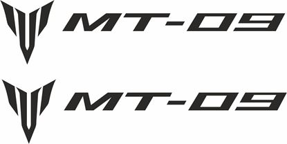 Picture of Yamaha MT-09 Decals / Stickers