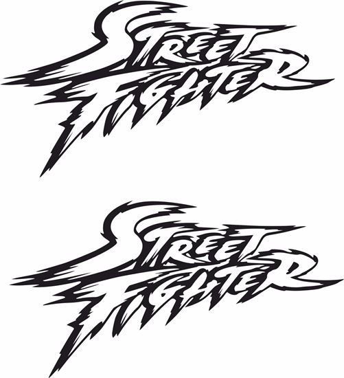 Zen Graphics Street Fighter Jdm Decals Stickers