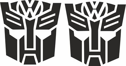 Picture of VW Transformer Decals  / Stickers