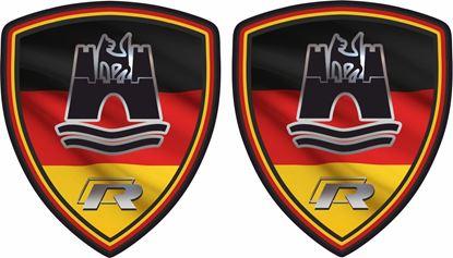 Picture of Deutschland Wolfsburg R Decals / Stickers