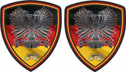Picture of Deutschland  R Decals / Stickers