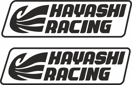 "Picture of ""Hayashi Racing"" JDM Decals / Stickers"