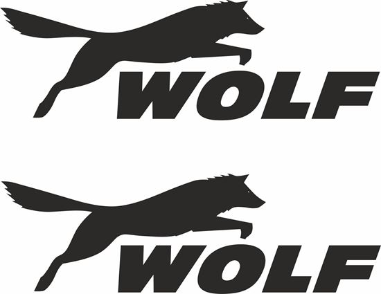 "Picture of ""Wolf"" Decals / Stickers"