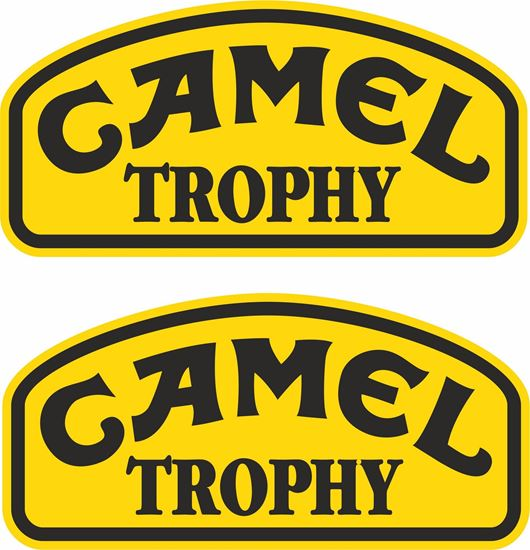 """Picture of Land Rover  """"Camel Trophy"""" Decals / Stickers"""