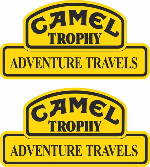 "Picture of Land Rover  ""Camel Trophy Adventure"" Decals / Stickers"