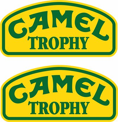 "Picture of Land Rover  ""Camel Trophy"" Decals / Stickers"