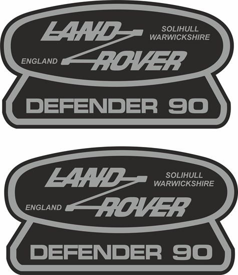 Picture of Land Rover Defender 90 Decals / Stickers