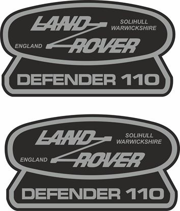 Picture of Land Rover Defender 110 Decals / Stickers