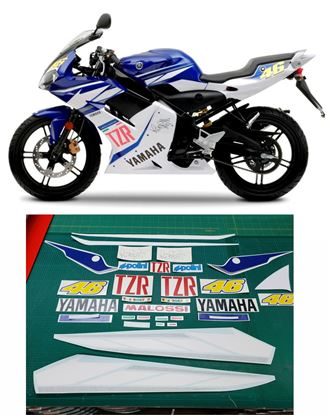 Picture of Yamaha TZR 50 Rossi  2006 Decals / Stickers