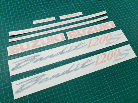 Picture of Suzuki Bandit GSF 1200S replacement Decals / Stickers