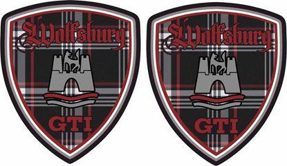 Picture of Wolfsburg GTI  Decals / Stickers