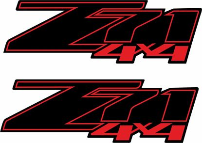Picture of Chevy Silverado  Z71 Decals / Stickers